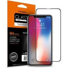 SpigenSPIGEN Härdat Glas Fc iPhone X/Xs/11 Pro Svart