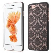 A-One BrandDamask Flowers Mobilskal till iPhone 7/8/SE 2020 - Svart
