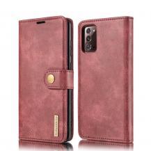 DG.MINGDG.MING Detachable 2-in-1 Fodral Till Samsung Galaxy Note 20 - Röd