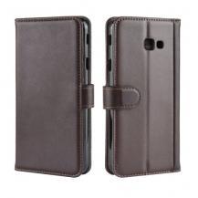OEMGenuine Split Plånboksfodral till Samsung Galaxy J4 Plus - Brun