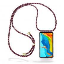CoveredGear-NecklaceCoveredGear Necklace Case Huawei P30 Lite - Red Camo Cord