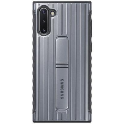 Samsung Protective Standing Cover för Samsung Galaxy Note 10 - Silver