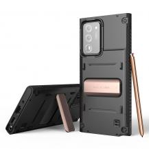 VERUSVRS DESIGN | Damda QuickStand Skal Galaxy Note 20 Ultra - Svart Bronze