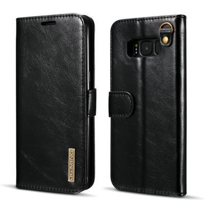DG.MING Plånboksfodral till Samsung Galaxy S8 Plus - Svart
