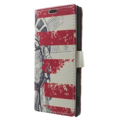 Plånboksfodral till Sony Xperia Z3 - Frihetsgudinnan