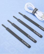 FlovemeFloveme kardborreband remsor för kabelhantering (10 st)