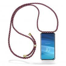 CoveredGear-NecklaceCoveredGear Necklace Case Samsung Galaxy S10 - Red Camo Cord