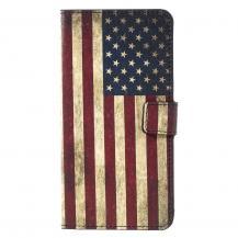 A-One BrandPlånboksfodral Samsung Galaxy S8 Plus - Amerikanska Flaggan