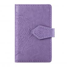 OEMMandala kreditkortshållare för smartphones - Lila