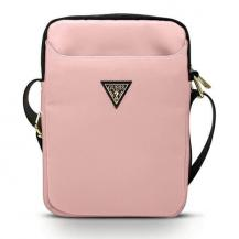 "GuessGuess Nylon Triangle Logo surfplattefodral 10"" - Rosa"