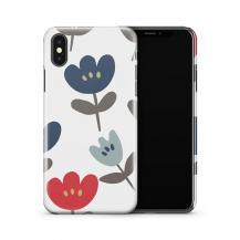 TheMobileStore Print CasesSkal till Apple iPhone X - PolkaDots
