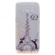 OEMGel Mobilskal Samsung Galaxy S8 - Eiffeltornet