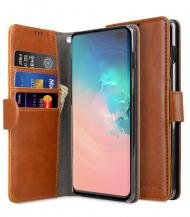 MelkcoMelkco Plånboksfodral till Samsung Galaxy S10 Plus - Brun