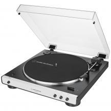 Audio-TechnicaAudio-Technica Skivspelare med Bluetooth Svart/silver
