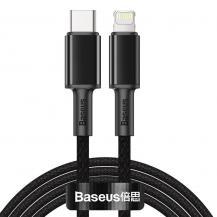 BASEUSBaseus USB Type C - lightning Kabel 20 W 2 m Svart