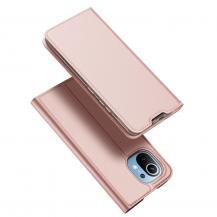 Dux DucisDux Ducis Skin Pro Plånboksfodral Xiaomi Mi 11 - Rosa