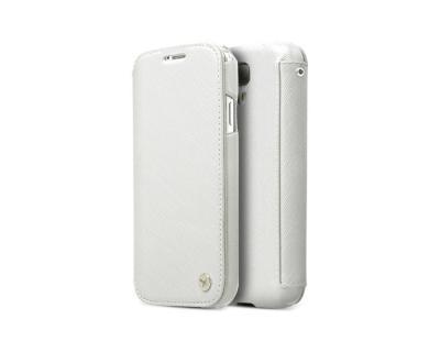 Zenus Prestige Minimal Diary väska till Samsung Galaxy S4 i9500 - Vit