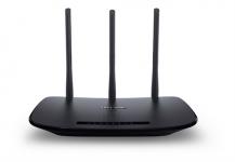 TP-LinkTP-Link TL-WR940N Trådlös router, 802.11b/g/n, 450 Mbps - Svart