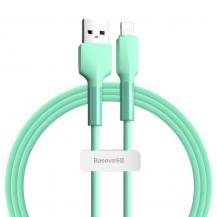 BASEUSBaseus USB lightning Kabel 2,4 A 1 m 480 Mbps Grön