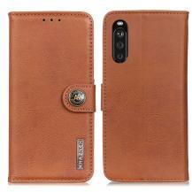 KHAZNEHKhanzeh - Plånboksfodral Sony Xperia 10 III - Brun