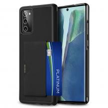 Dux DucisDUX DUCIS Card Slot PU Leather Skal Till Galaxy Note 20 - Svart