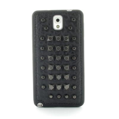 Studded Leather Pattern Flexiskal till Samsung Galaxy Note 3 (Mountain Points)