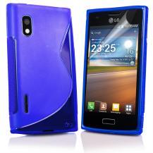 A-One BrandFlexiCase Skal till LG Optimus L5 - E610 - (Blå)