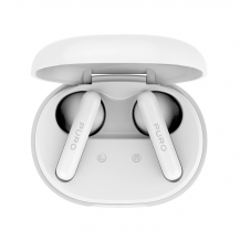 PuroPuro - TWS med Laddningsbas Bluetooth-Hörlurar - Vit
