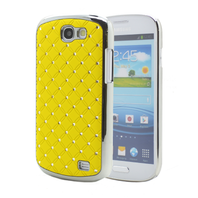 Diamante Skal till Samsung Galaxy Express i8730 - (Gul)