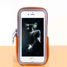 A-One BrandUniversalt sportarmband för mobiler upp till 6.5 tum - Orange