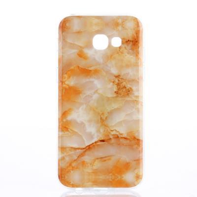 Mobilskal Samsung Galaxy A3 2017 - Orange Marmor