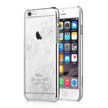 VouniVouni skal med strass-stenar till iPhone 6 / 6S - Silver