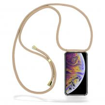 CoveredGear-NecklaceCoveredGear Necklace Case iPhone Xs Max - Beige Cord