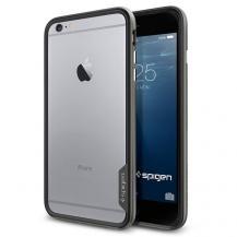 SpigenSPIGEN Neo Hybrid EX Bumper Skal till Apple iPhone 6(S) Plus (Gunmetal)