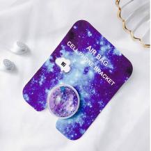 A-One BrandLiquid Glitter Ringhållare till Mobiltelefon - Lila
