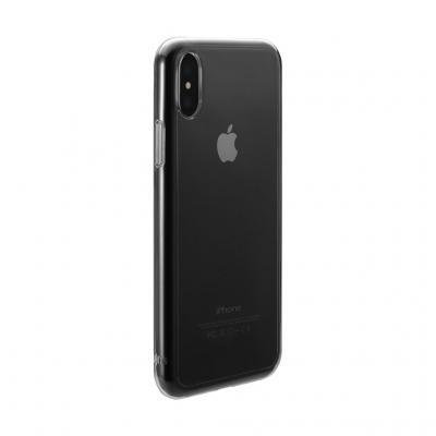 Just Mobile TENC Självläkande skal iPhone XS / X - Crystal Clear
