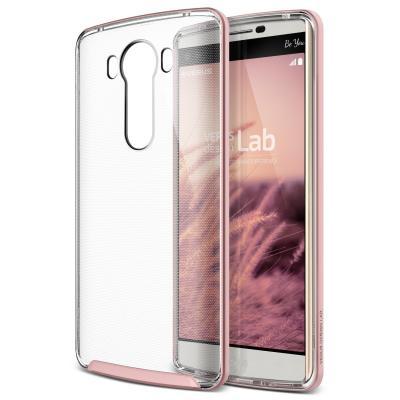 Verus Crystal Bumper Skal till LG V10 - Rose Gold