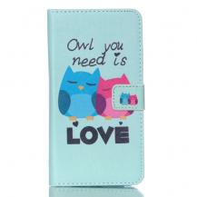 A-One BrandPlånboksfodral till Samsung Galaxy Note 5 - Owl You Need is Love