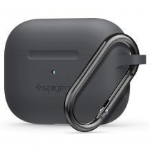 SpigenSPIGEN Silicone Fit Apple Airpods Pro Svart