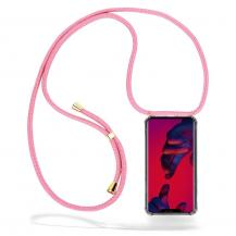 CoveredGear-NecklaceCoveredGear Necklace Case Huawei Mate 20 Pro - Pink Cord