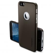 SpigenSPIGEN Ultra Thin Fit A Skal till Apple iPhone 6(S) Plus (Gunmetal)