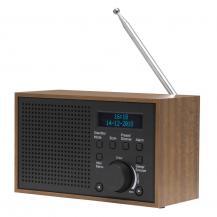 DenverDenver FM/DAB+ Radio Trä/Grafit