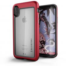 GhostekGhostek Atmoic Slim Skal till Apple iPhone XS / X - Röd