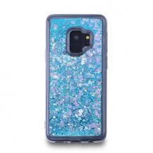 CoveredGearGlitter Skal till Samsung Galaxy S9 - Blå