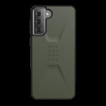 UAGUAG Samsung Galaxy S21 Plus Civil-Fodral Olive