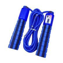 HurtelSkipping rope med a jump counter fitness crossfit Blå