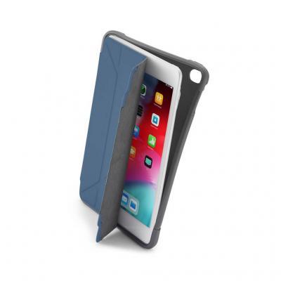 Pipetto iPad Mini 5 Origami Shield-fodral - Marinblå