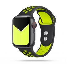 Tech-ProtectTech-Protect Softband Apple Watch 1/2/3/4/5/6 (42/44mm) - Black/Lime