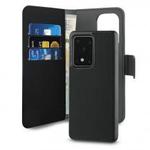 PuroPuro Wallet Detachable Samsung Galaxy S20 Plus - Svart