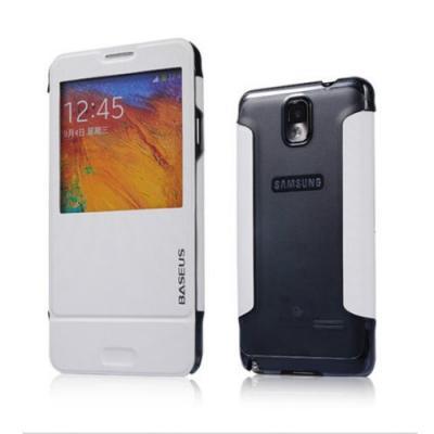 BASEUS Folio fodral till Samsung Galaxy Note 3 N9000 (Vit)